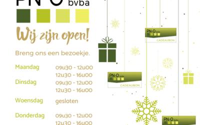 Wij zijn deze week open!