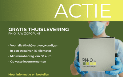 PN-O zegt dankjewel met gratis levering aan huis voor verpleegkundigen